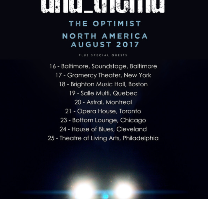 Anathema release North American tour dates