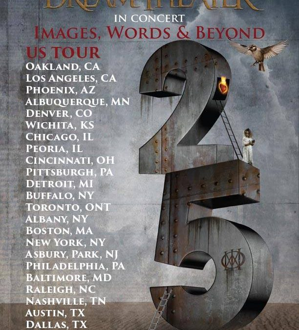 Dream Theater announce US dates for Images, Words & Beyond Tour
