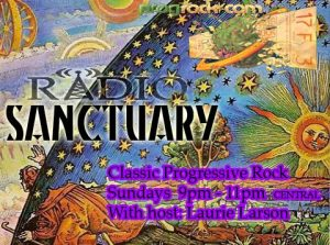 Radio Sanctuary w/ DJ Laurie Larson - On Hiatus