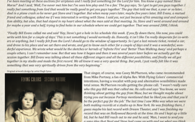 Flying Colors release debut album 6 years ago (Book Excerpt)