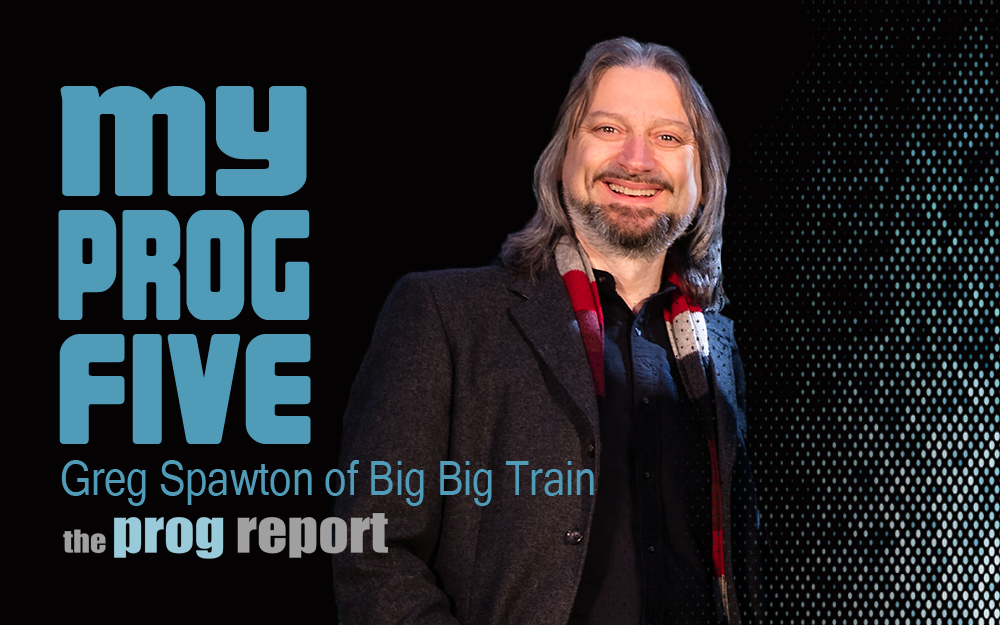 My Prog Five with Greg Spawton of Big Big Train