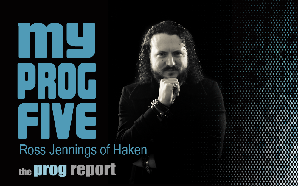My Prog Five with Ross Jennings of Haken