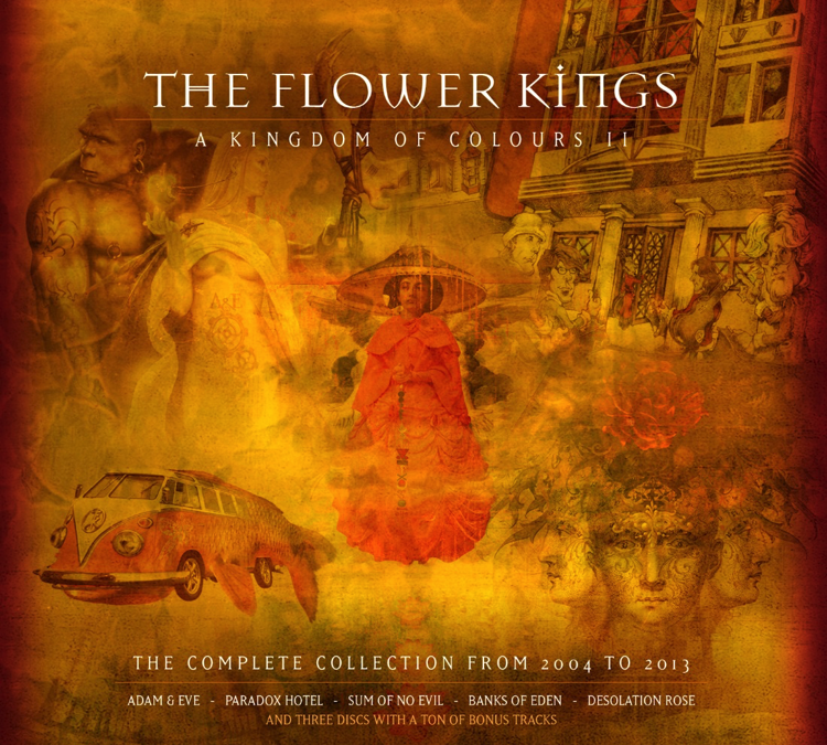 The Flower Kings announce boxset highlighting later era of band