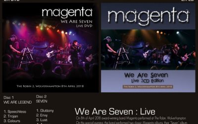Mark's Quick Review: Magenta's – We Are Seven.