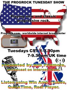 The ProgRock Tunesday Show w/ Bob Prigmore